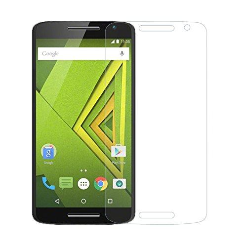 Preisvergleich Produktbild iProtect Screen Protector Tempered Glass Hartglas Schutzfolie für Motorola Moto X Play Display Schutzglas 0,3mm