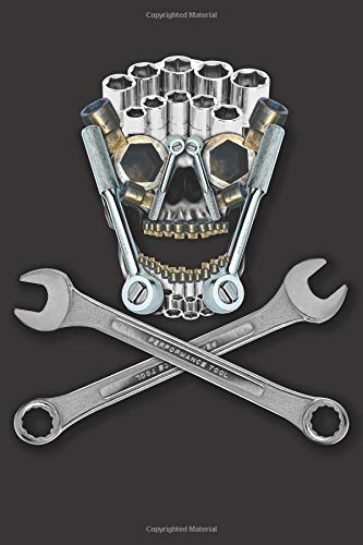 Tool Skull: Blank Lined Notebook, Journal or Diary -