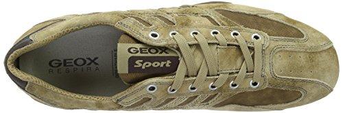 Geox Herren Uomo Snake H Low-Top Beige (DESERTC5007)
