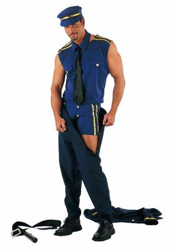 Polizei Kostüme Für Männer (Limit Sport MA292 - Herrenkostüm Polizist 7-teilig)