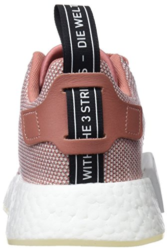 Adidas Nmd_r2 W, Zapatilla Donna Rosa (ash Pink / Crystal White / Footwear White)