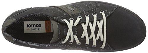 Jomos Trailer, Chaussures Oxford homme Multicolore - Mehrfarbig (schwarz/anthrazit 41-0017)
