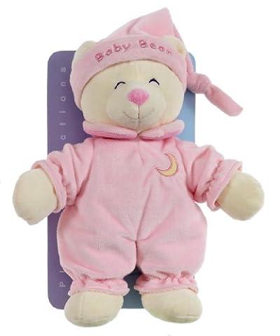 Gipsy Doudou - Baby Bear - Rose - 24 cm