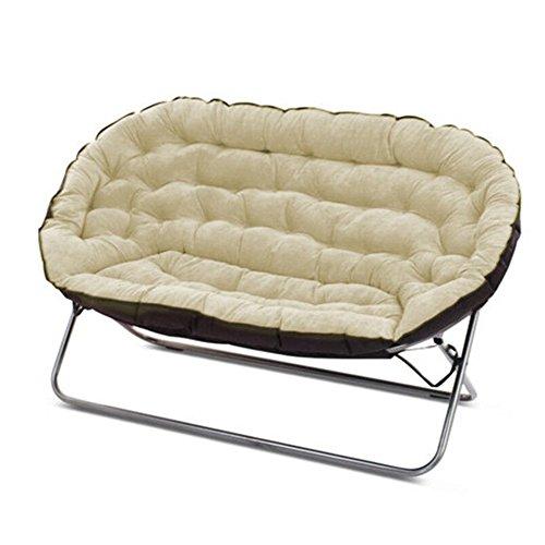 T-Y Lazy Sofa einzigen Doppel-Sofa Schlafzimmer Wohnzimmer Klappstuhl Liegesessel Klappstuhl ( Farbe : Q )
