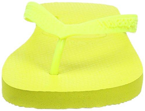 Havaianas Infradito Uomo/Donna Top Giallo (Neon Yellow 6325)