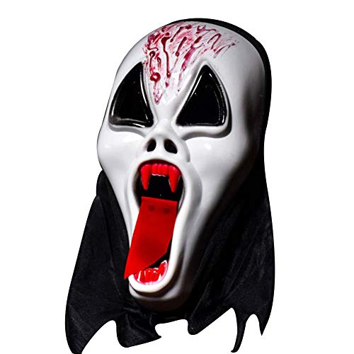 Halloween-Masken unheimlich, Teufel Maske - Ghost Festival ganze Person Halloween Maske Full Face Requisiten Horror