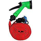 #5: Water Spray Gun with 10 MTR pipe (4 patterns) for Car/ Bike Washing