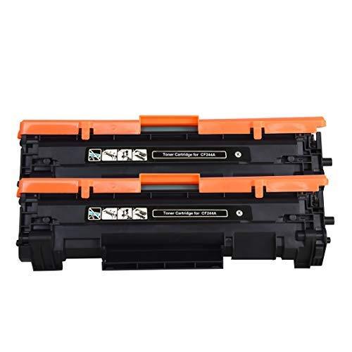 Cartucho de Tóner de Repuesto para impresoras HP CF244A 44A Compatible con impresoras HP Laserjet Pro M15a M15w, HP Laserjet Pro MFP M28a M28w, Color 2BK 2BK
