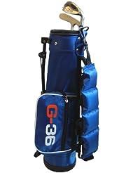 Golf36 - Bolsa con equipamiento de golf para niños, color azul