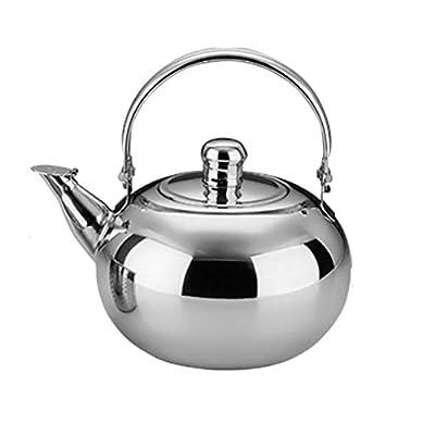 Théières Bouilloire en acier inoxydable, bouilloire, théière, chaudière à vin, filtre, cuisinière à induction, cuisinière à gaz, universel