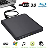 External Bluray Drive USB3.0 Biscon External Blu Ray Player Writer Drive Compatible