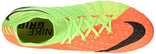 Nike Hypervenom Phantom Iii Sg-Pro, Chaussures de Football Homme Vert (Electric Green/black/hyper Orange/volt)