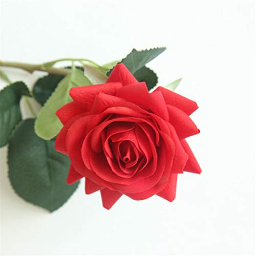 Happy event Fleurs artificielles fleuries de fleurs artificielles fleuries Rose pivoine Pour mariée mariage mariage décoration de jardin Gesamtlänge: 42.5cm(ca.) A