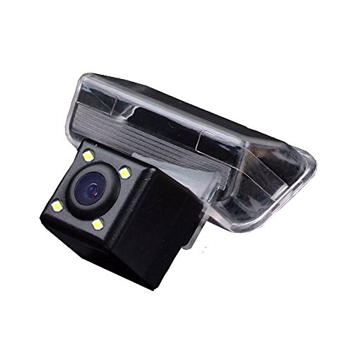 Dynavsal Auto HD CCD Rückfahrkamera 170° Weitwinkel mit Radar Sensor Einparkhilfe Universal für PAL/NTSC, Schwarz für Toyota Corolla /Levin /VIOS/ Verso/ Yaris/ Camry /Citroen C4/C5 / Nissan Sunny/ Peugeot 307 /407 /Nissan QASHQAI /X-Trail - Sharp Ccd Sensor