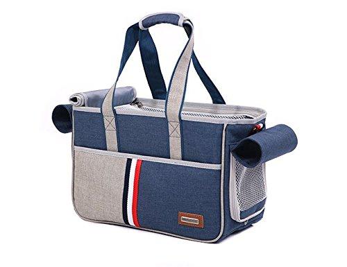 BENWEI Classics Pet Carrier,Portable Dog Cat Handbag Outdoor Soft Sided Pet Shoulder Bag Foldable Travel Tote,Under Seat… 14