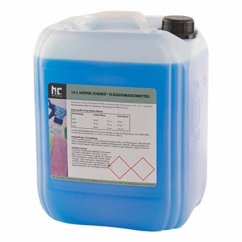 1 x 10 L Waschmittel flüssig - im 10 L Vorratskanister - VERSANKOSTENFREI