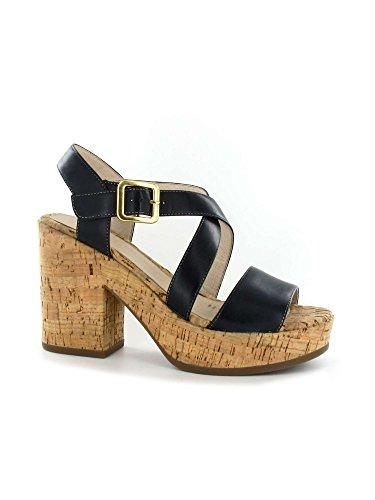 Stonefly 108331 Sandales compensées Femmes Noir