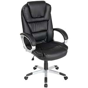 TecTake Luxus Chefsessel Bürostuhl