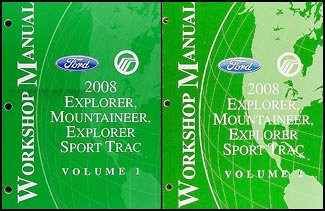 2008-ford-explorer-mercury-mountaineer-repair-shop-manual-set-original
