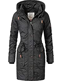 Khujo Damen Mantel Wintermantel Winterparka Baumwollparka YM-Mell (vegan  hergestellt) 5 Farben XS 408d94499a