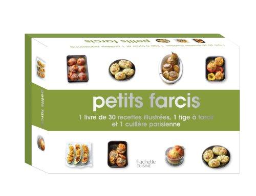 Mini-coffret petits farcis: 1 livre de 30 recettes illustrées, 1 tige à farcir et 1 cuillère parisienne par Aurélie Desgages