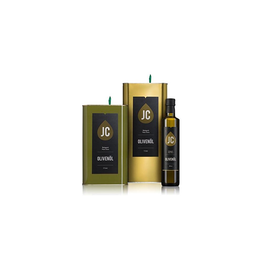 Jc Olivenl Bio Nativ Extra In 3 Gren Erhltlich 500ml 3 Liter 5 Liter Neue Ernte De Ko 009
