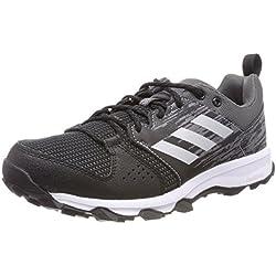 Adidas Galaxy Trail, Zapatillas de Trail Running para Hombre, Negro (Core Black/Matte Silver/Carbon), 39 1/3 EU