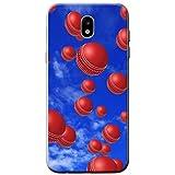 Es regnet Cricketbälle Hartschalenhülle Telefonhülle zum Aufstecken für Samsung Galaxy J5 (2017) (J530)