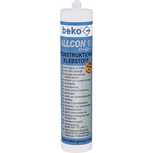 Beko Allcon 10 Original Konstruktions-Klebstoff 310 ml, beige