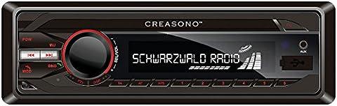 Creasono Autoradio Bluetooth: MP3-RDS-Autoradio CAS-3300.bt mit USB, SD, BT & Freisprecher (Autoradio mit