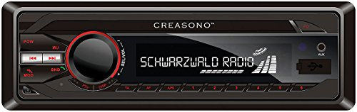 Creasono Autoradio, Bluetooth: MP3-RDS-Autoradio CAS-3300.bt mit USB, SD, BT & Freisprecher (MP3 Autoradio mit Bluetooth)