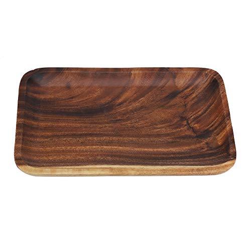Especificaciones: Condición: 100% nuevo. Material: madera. Color: marrón. Forma: rectangular. Tamaño opcional: 25 x 17 cm, 25 x 12,5 cm, 16,5 x 12,5 cm. Altura: aprox. 2 cm. Peso aproximado: 105 g ~ 286 g. Contenido del envío: 1 bandeja de madera par...