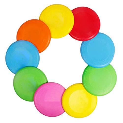 SUPERLOVE Outdoor-Sportarten Weiche Frisbee-Fliegende Untertasse Verschleißfeste Kindergarten Eltern-Kind-Interaktives Schaumspielzeug