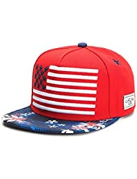 Cayler & Sons Snapback BEACH N STRIPES Red Mc White