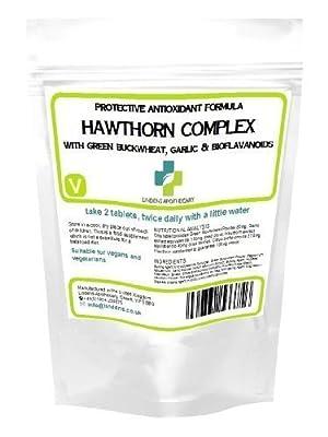 Lindens Hawthorn Protective Antioxidant Formula heart blood pressure supplement from Lindens