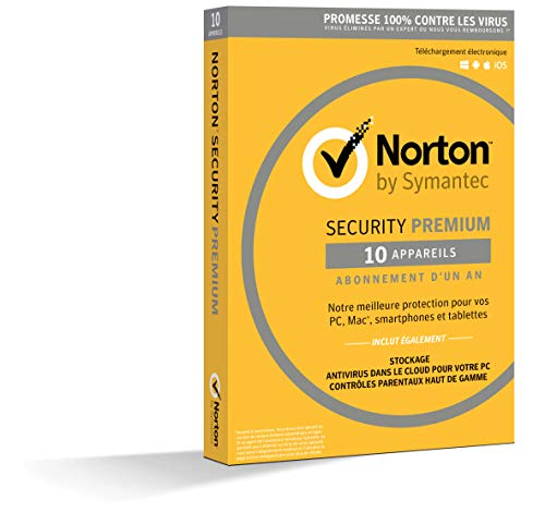 Symantec Norton Security Premium 3.0 1 Y Full license 10 utente(i) / 1 anno/i
