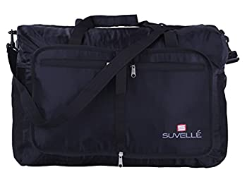 "Suvelle Lightweight 21"" Travel Foldable Duffel Bag For Luggage Gym Sports Water Resistant Nylon Duffle 0"
