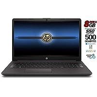 Notebook portatile HP 255 G7 8Gb DDR 4 SSD M.2 da 500GB, CPU Amd 7G., con Svga Radeon R3, Display 15.6 HD antiriflesso LED, bt, wi-fi, Windows 10 Pro 64, Office 2019, Pronto all'uso, Garanzia Italia
