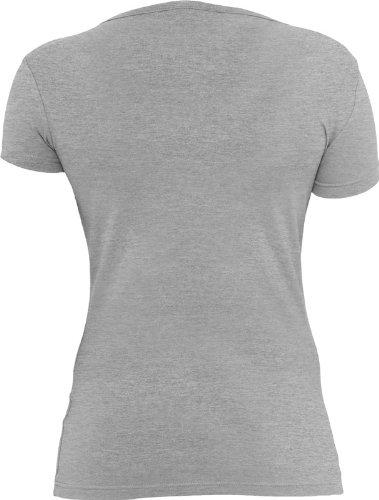 Urban Classics Damen Ladies Basic Tee TB383 grey