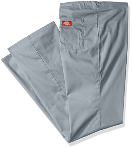 Dickies Men's Big and Tall Eds Signature Unisex Drawstring Scrub Pant, Grey, XX-Large/Short Eds-pullover Hoodie
