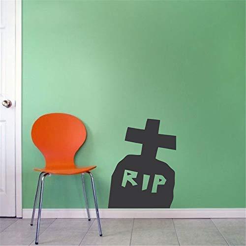 Wandaufkleber Kinderzimmer Wandaufkleber Schlafzimmer Zerreißen Sie Zitat-Halloween-Fenster-Ausgangsdekor-Tür-Design