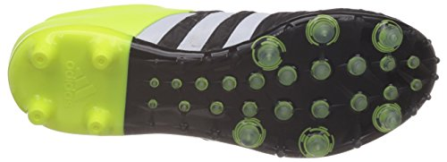 adidas Ace 15.2 Firm Artificial Ground, Chaussures de football homme - Noir Noir / Lime / Blanc