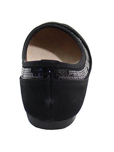 By Shoes, Espadrillas basse donna Noir