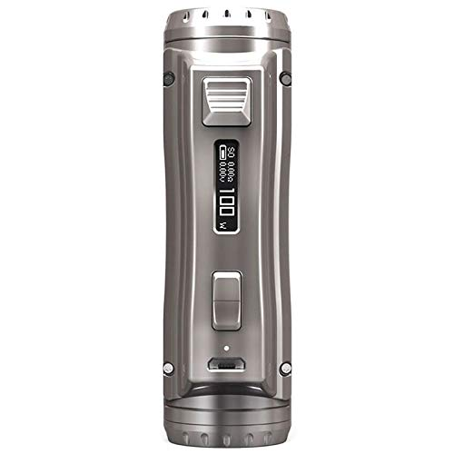 Authentic Ehpro Cold Steel 100 Mod 120W 18650/20700/21700 VV VW Temperature Control Box Mod (silver)