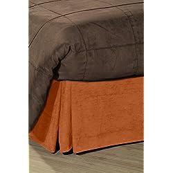 Pikolin Home - Cubrecanapé de ante ecológico, cama 90, color naranja (Todas las medidas)