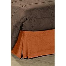 Pikolin Home Cubrecanapé de ante ecológico, cama 150, color naranja
