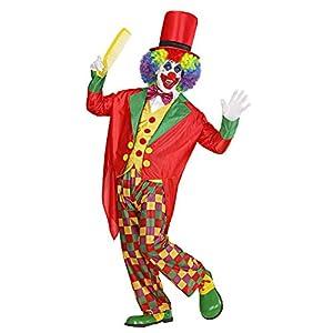 WIDMANN Widman - Disfraz de payaso de circo para hombre, talla UK 44-46 (W3169-XL)