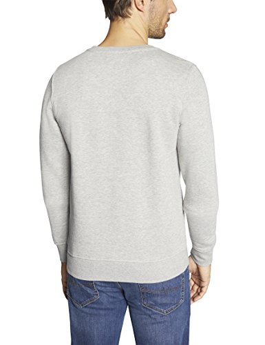 Oklahoma Jeans Herren Sweatshirt Grau (Greymelange 400)
