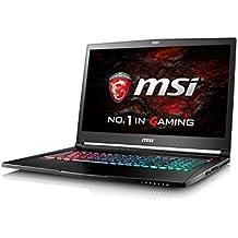 """MSI Stealth Pro GS73VR 6RF-026ES - Portátil de 17.3"""" IPS 120Hz FullHD (Intel Core i7-6700HQ, 16 GB RAM, 2 TB HDD, 256 GB SSD, Nvidia Geforce GTX 1060 6GB, Windows 10) negro"""