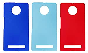 Winsome Deal 3 Pieces of Exclusive Quality Hard Back Cover Case For Micromax Yu Yuphoria